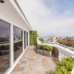 """A portion of the terrace. [Photo by <a href=""""http://www.patriciachangphotography.com/"""">Patricia Chang</a>]"""
