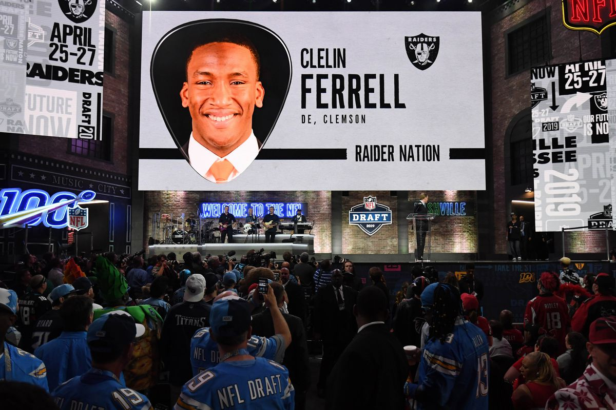 Clelin Ferrell gets disrespected as Raiders rookies get
