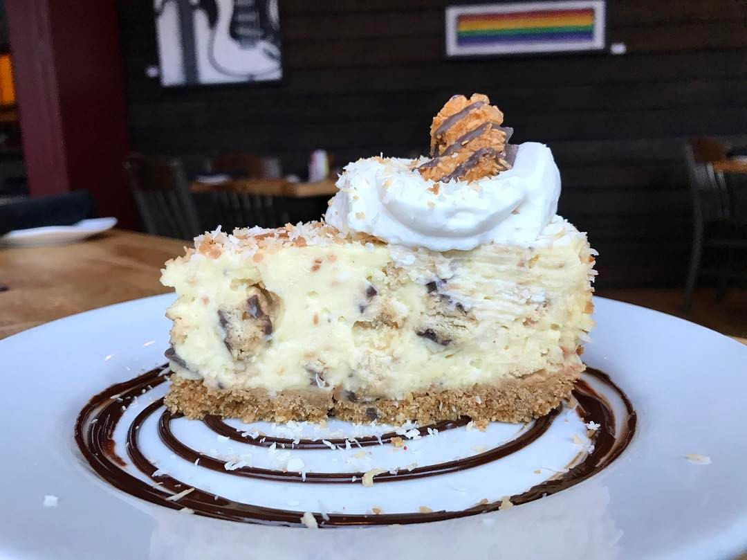 The caramel delight coconut cream pie at Jack Allen's Kitchen