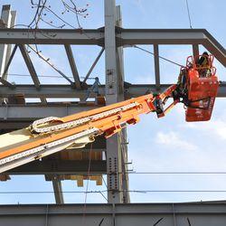 Jumbotron steel work -
