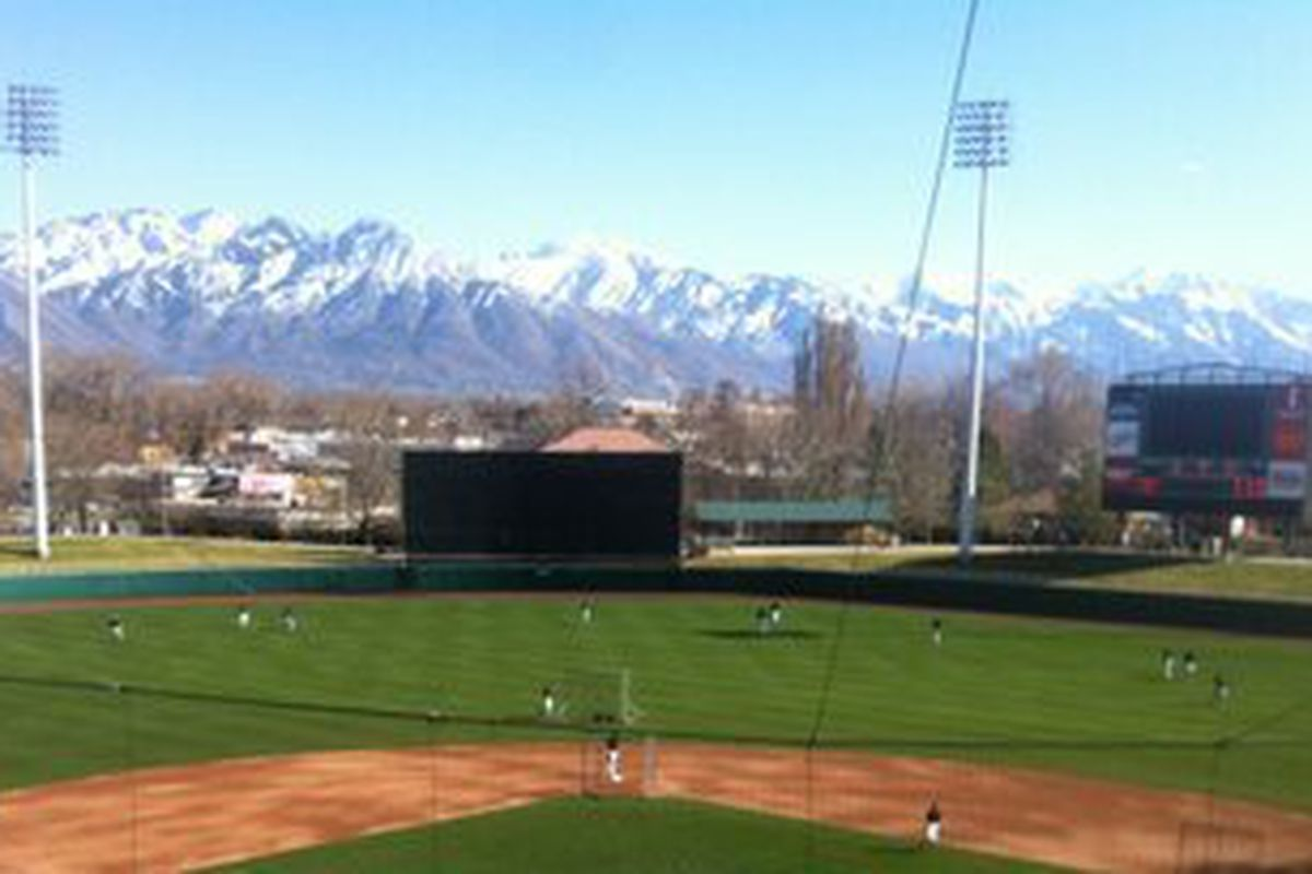 The Game Day View in Salt Lake City!