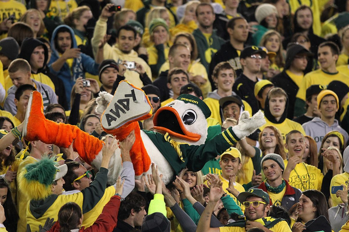 It's going to take a lot to displace Oregon from the top of the Pac-10 pile.