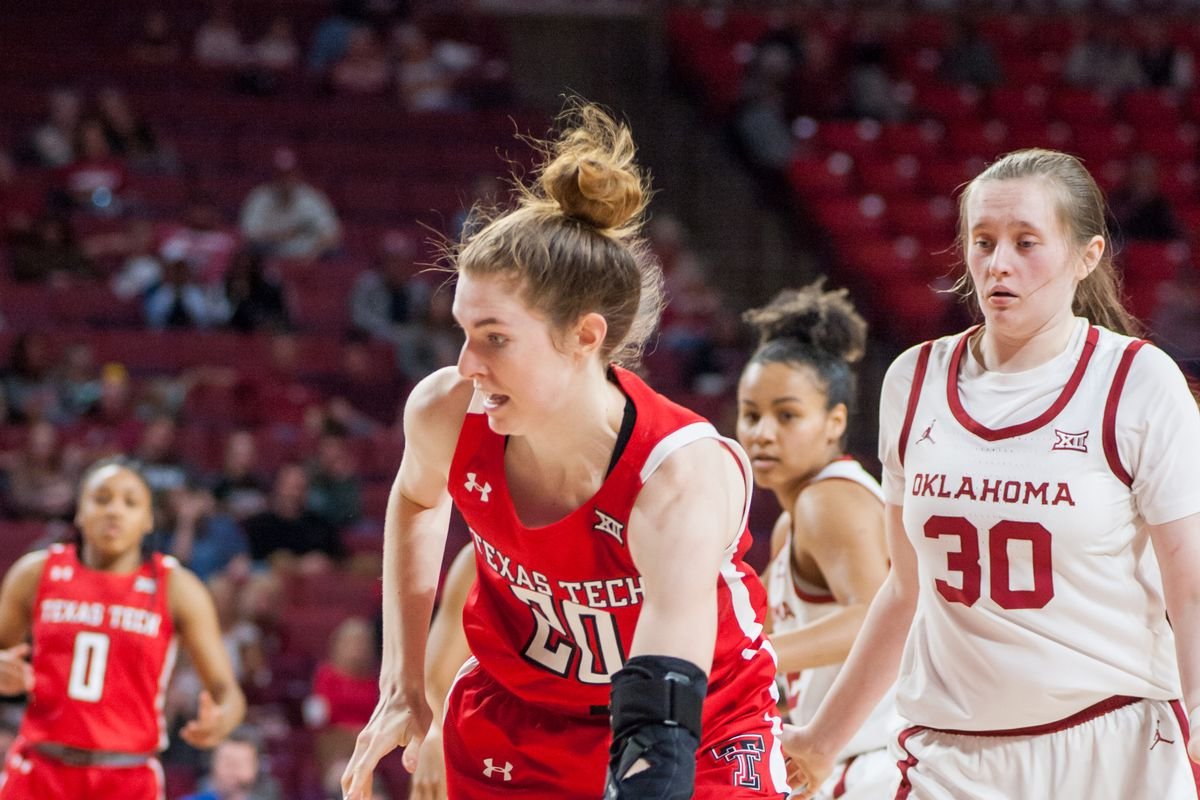 COLLEGE BASKETBALL: MAR 07 Women's Texas Tech at Oklahoma