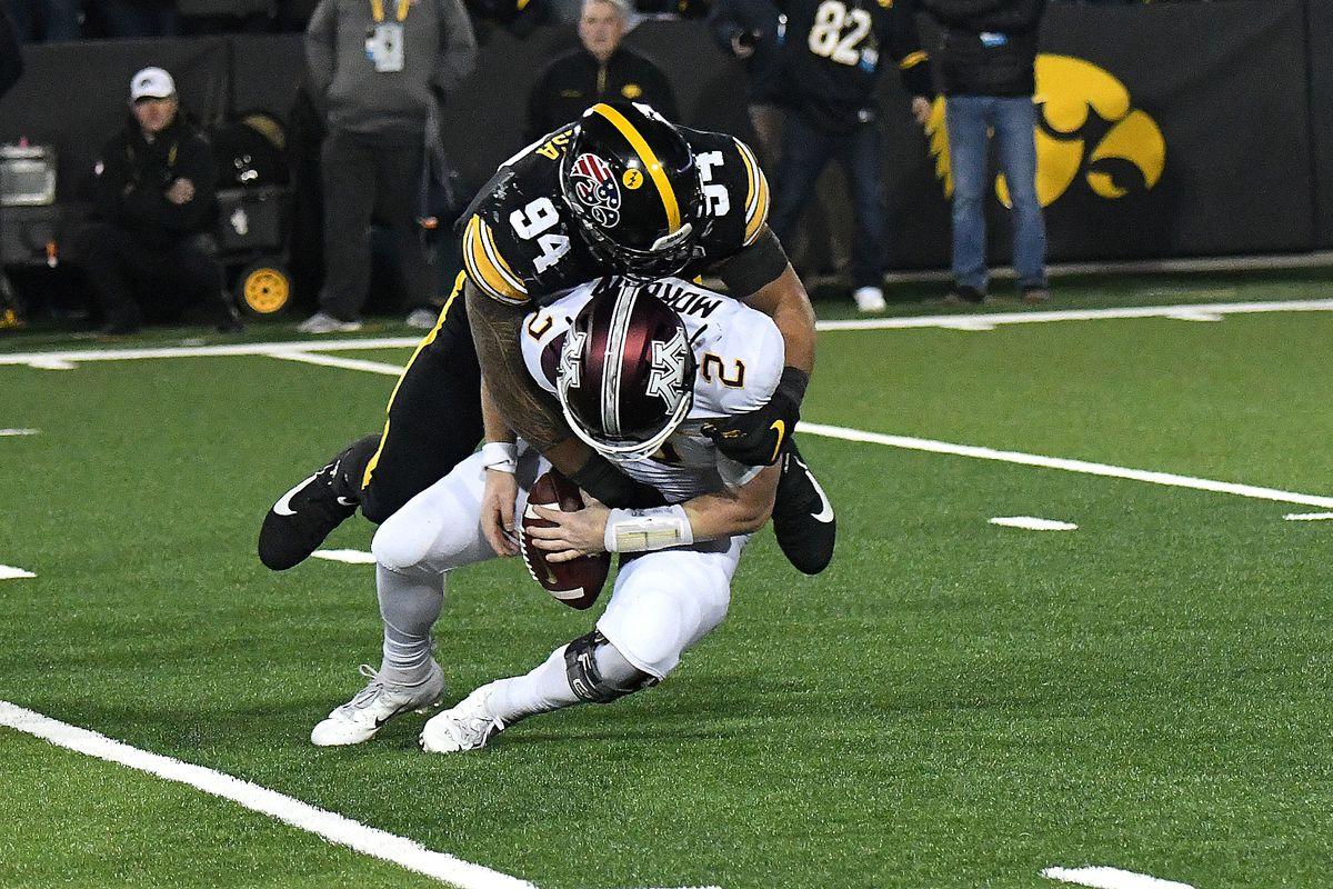 Iowa Football S 2020 Matchup Against Minnesota Inexplicably