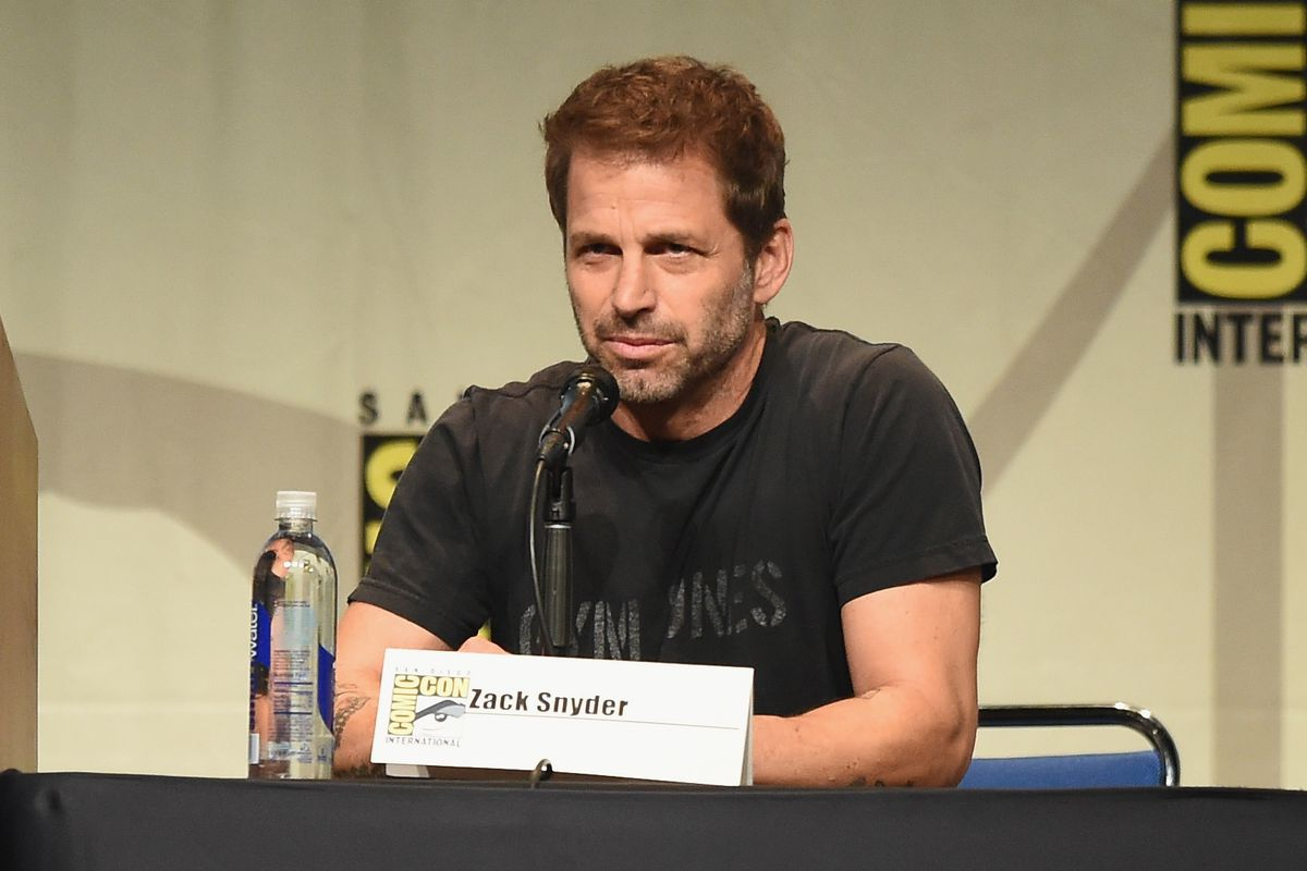 Zack Snyder at SDCC