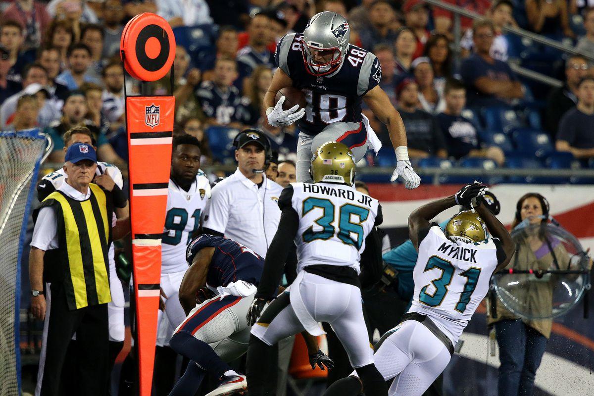 NFL Preseason: Jacksonville Jaguars Vs. New England Patriots At Gillette Stadium