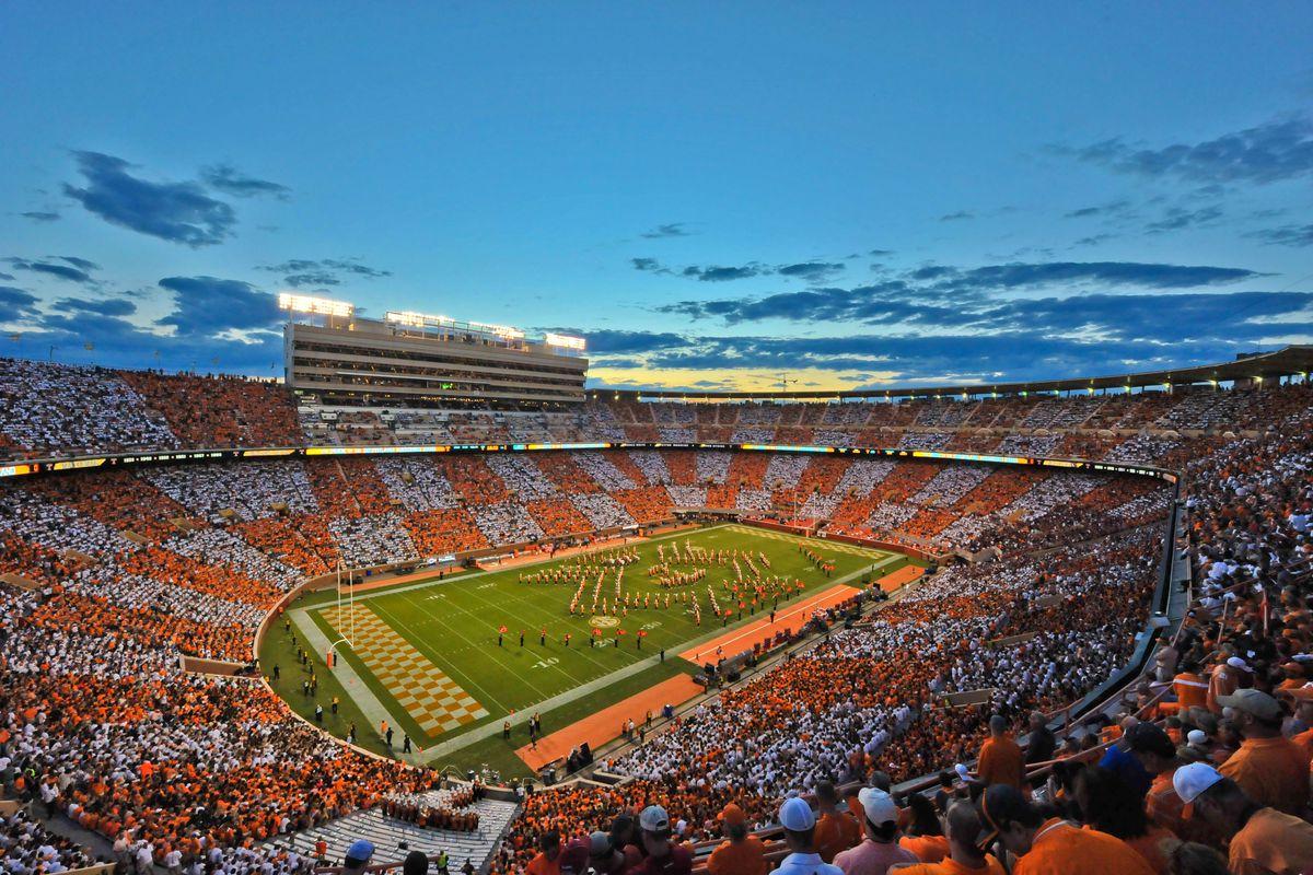 NCAA Football: Oklahoma at Tennessee
