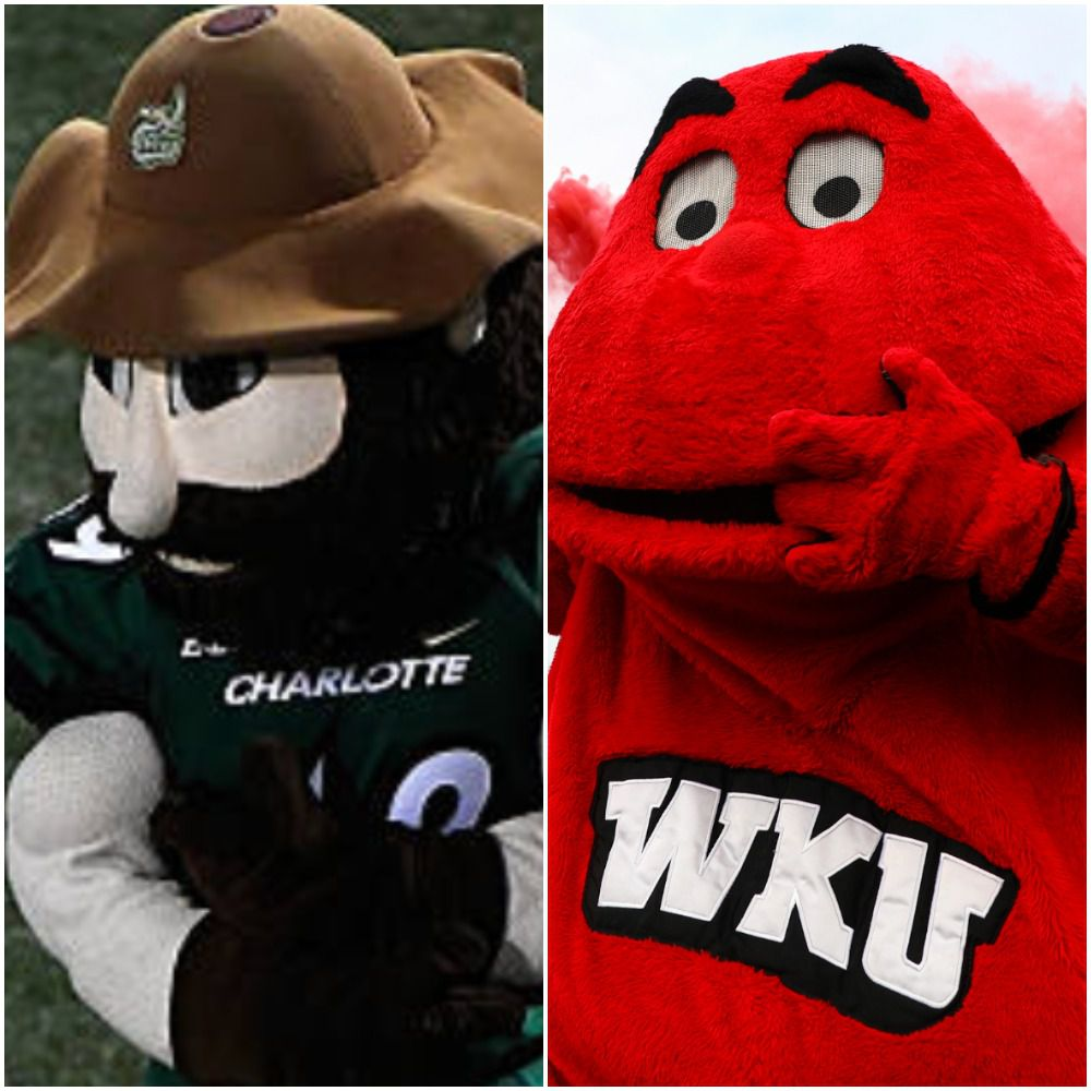 Norm the Niner and Big Red