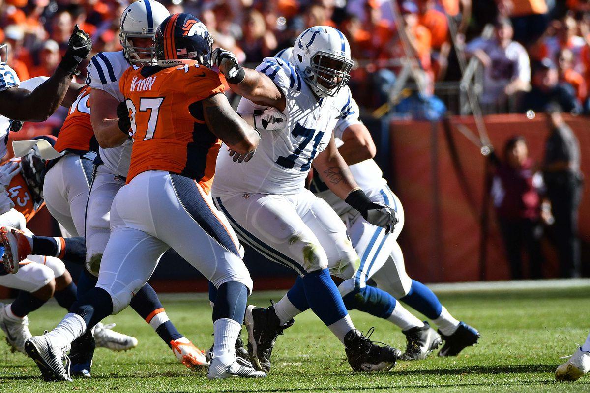 NFL: Indianapolis Colts at Denver Broncos
