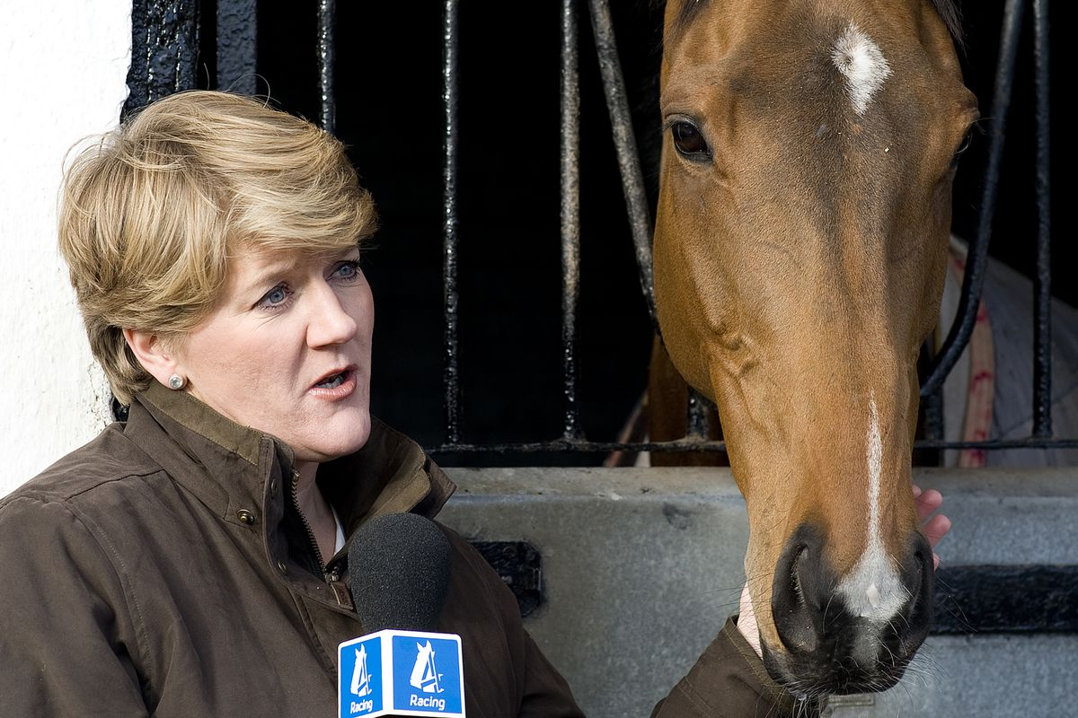 Clare Balding is the BBC's lead horse racing broadcaster