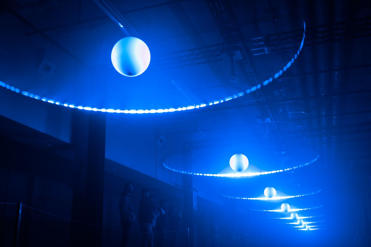 """""""Musica Universalis,""""  a site-specific art piece by United Visual Artists"""
