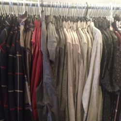 Assorted shirts, $50