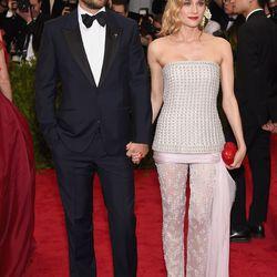 Joshua Jackson in Alexander McQueen and Diane Kruger in Chanel
