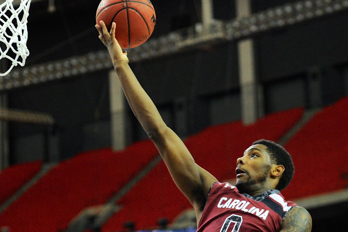 Sindarius Thornwell and the Gamecocks opened practice today.