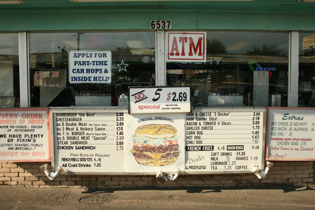 Definitely add bacon at Keller's Drive-In.