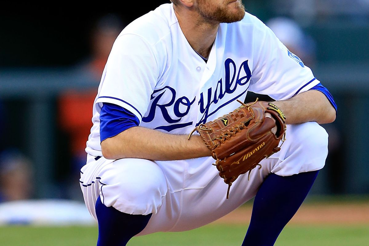 Wade Davis in deep thought about getting better....much better.