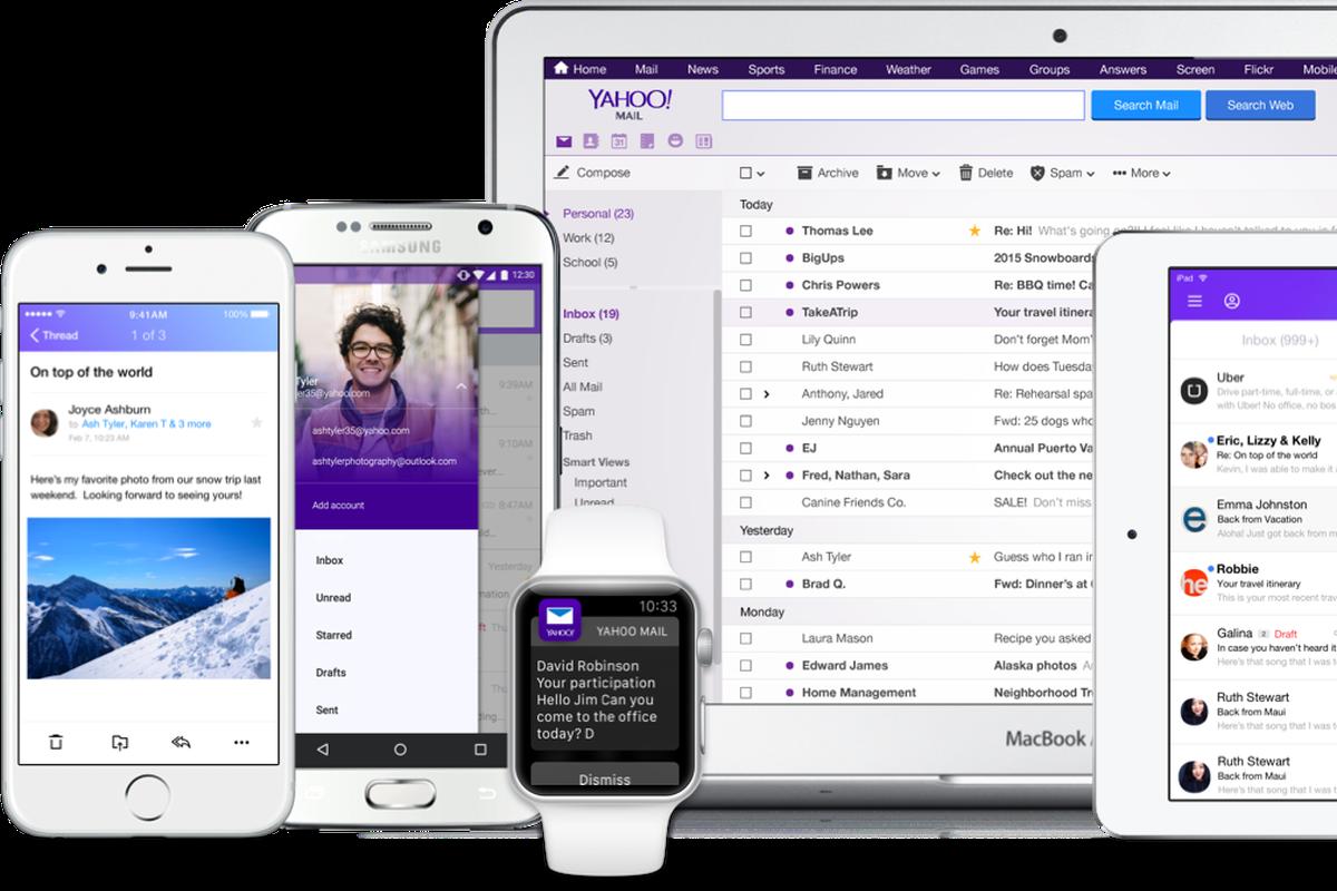 yahoo mail app windows 10 mobile