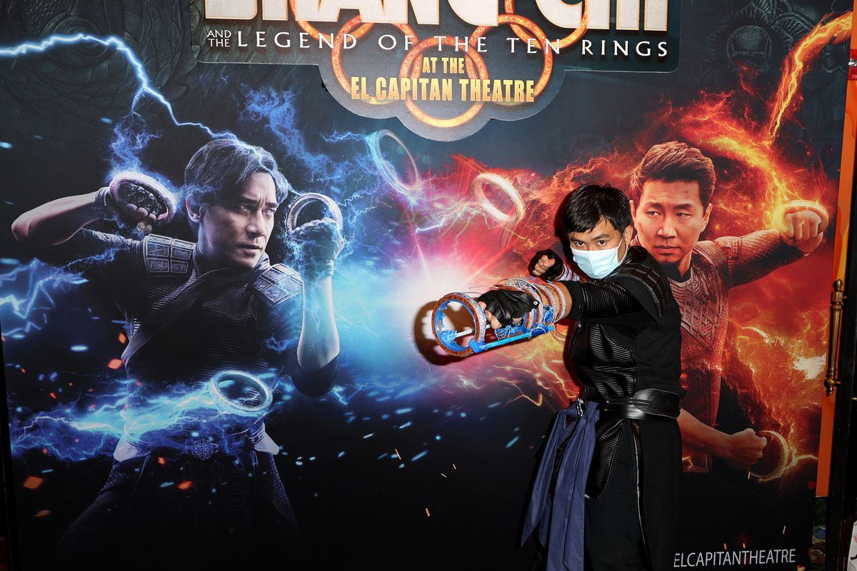 """Marvel Studios' """"Shang-Chi and The Legend Of The Ten Rings"""" Special Opening Night Fan Event At El Capitan Theatre"""