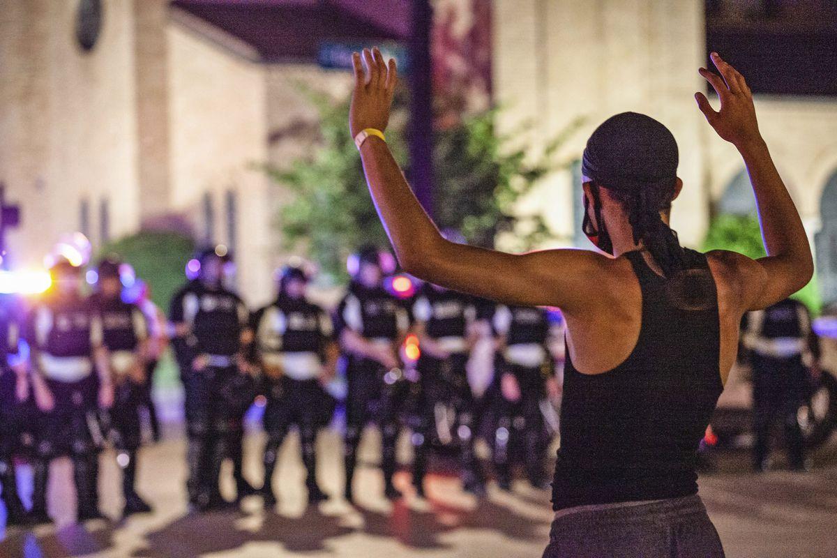 Columbus. Ohio police protests