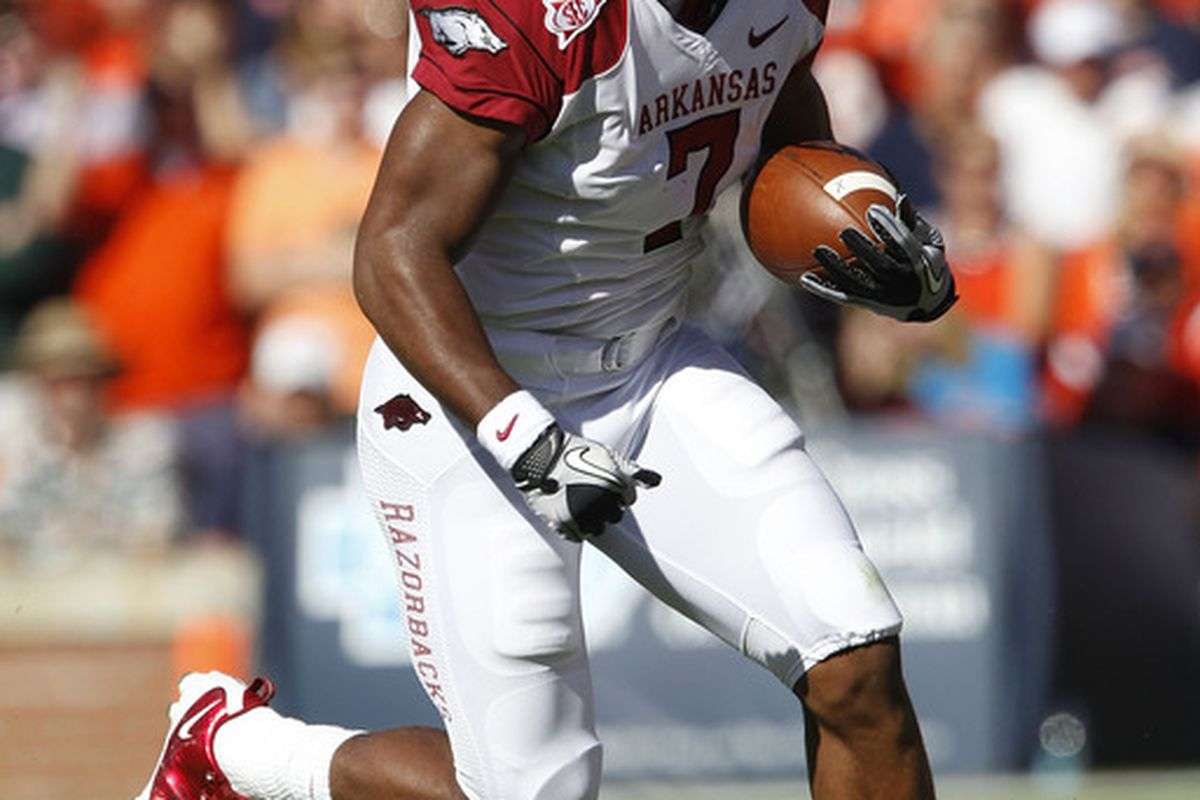 Knile Davis and Arkansas have a relatively manageable schedule for an SEC West team.