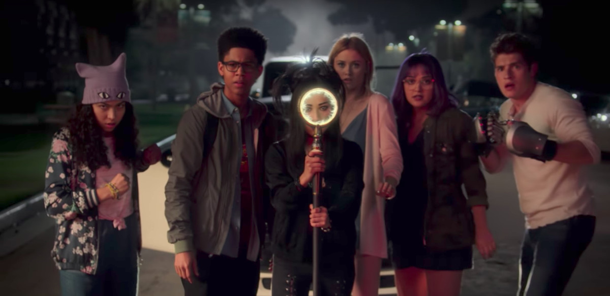 Screenshot from a trailer to Marvel's Runaways on Hulu.