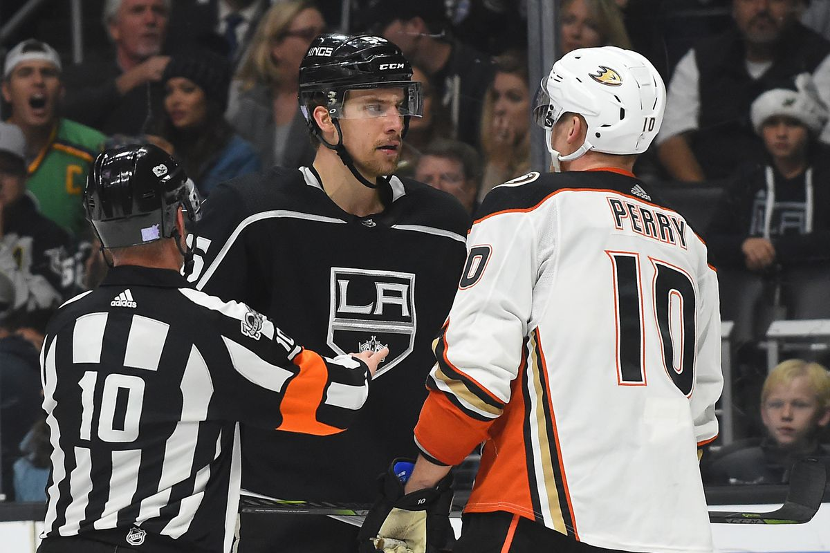 great fit b4590 0d674 LA Kings vs. Anaheim Ducks Recap, Game #24: Fight night, on ...