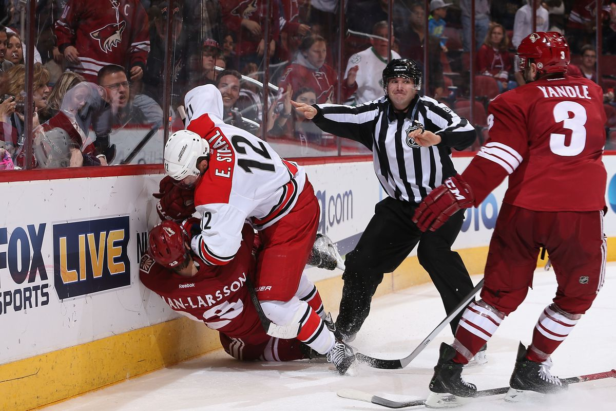 Nothing quite like an old fashioned hockey rivalry.