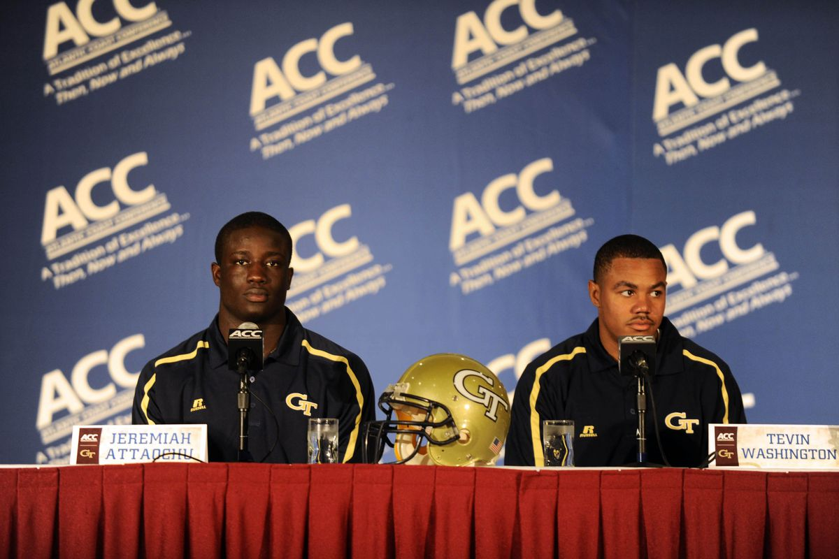 These guys have had quite the adventure between them when it comes to our last 2 games against the Hokies...