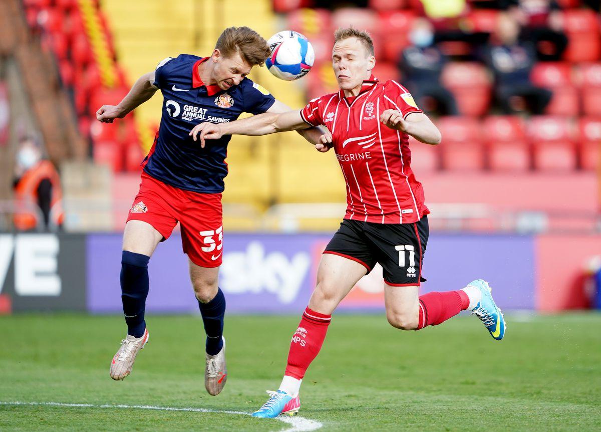 Lincoln City v Sunderland - Sky Bet League One - Playoff - Semi Final - First Leg - LNER Stadium