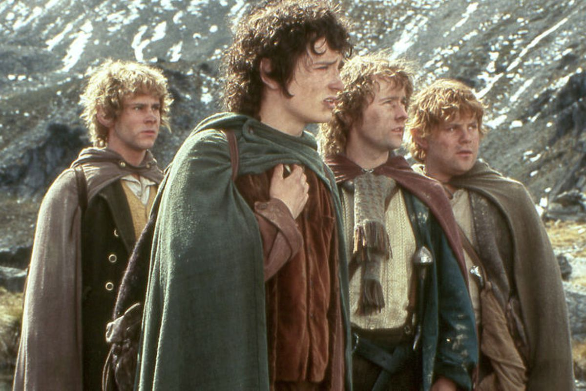 Frodo, Samwise, Merry and Pippin from The Lord of the Rings