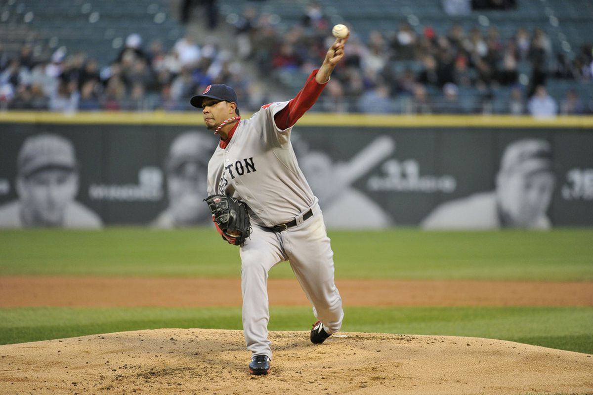 Left-handed pitching and U.S. Cellular Field: A losing combination.
