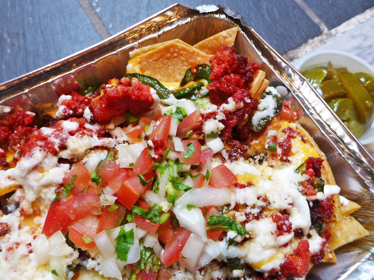Lushest Nachos In Town Flooded With Yellow Rivers Of Cheese And Dabbed Crema Head To El Diablito Which Has The Feel A Mexican Restaurant Near