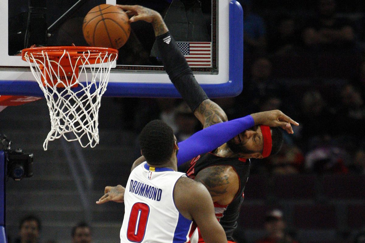James Johnson crowns Andre Drummond for the dirtiest dunk all year. Now pick him up!