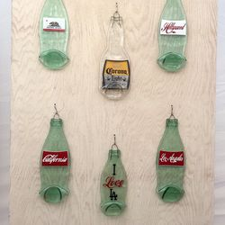 Moonstone Craft's recycled bottle art is the ultimate LA gift.