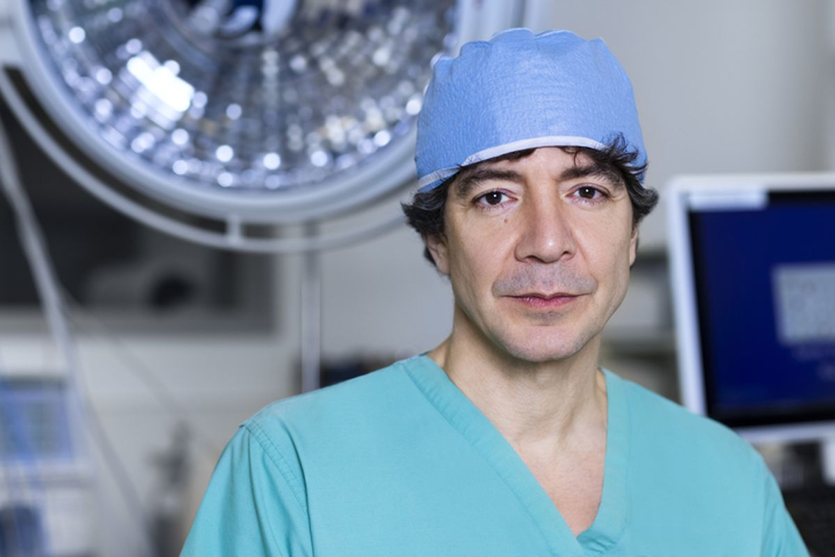 Surgeon Dr. Raja Flores is on the ballot in November as the mayoral candidate of the Humanity United Party.