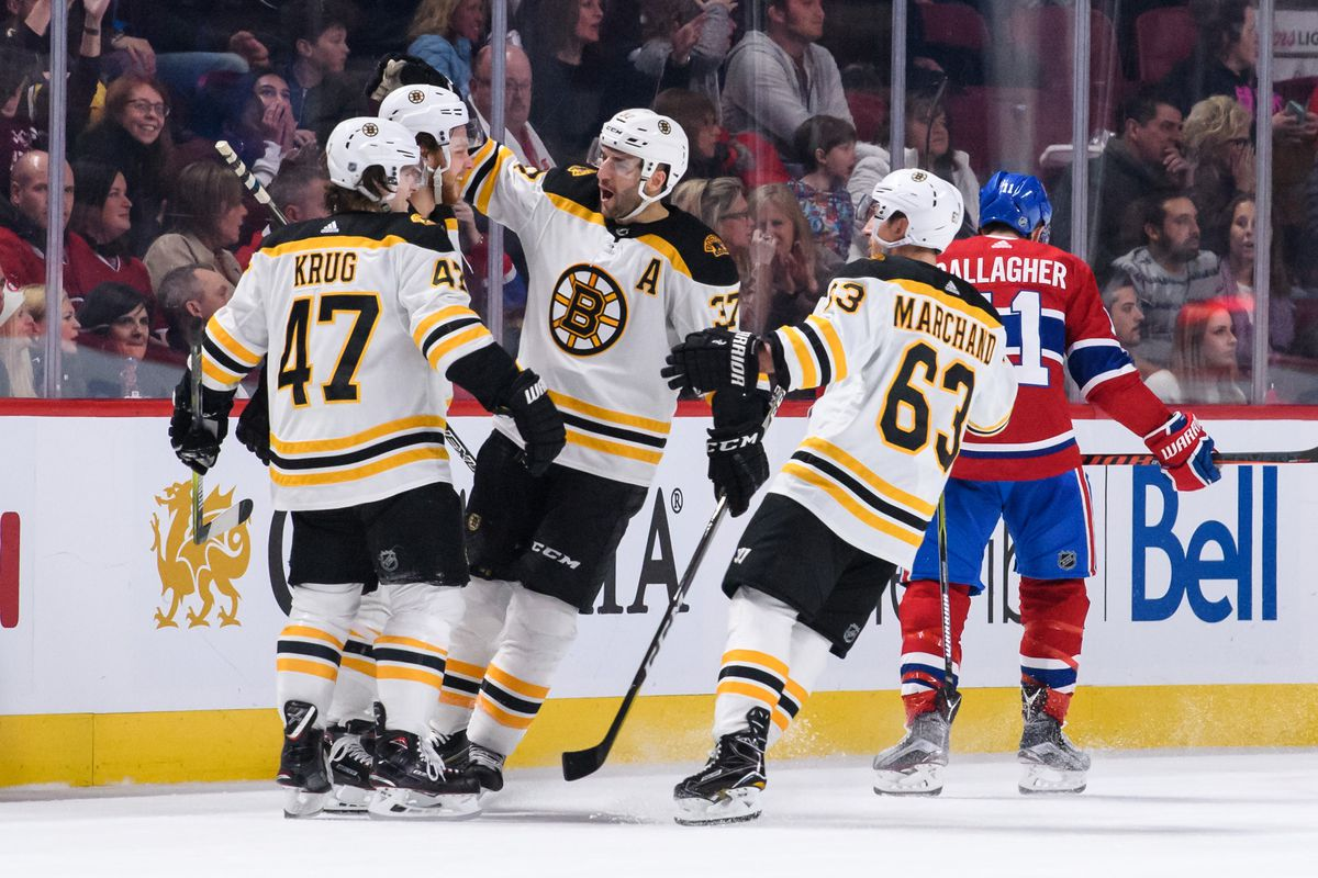 NHL: JAN 20 Bruins at Canadiens