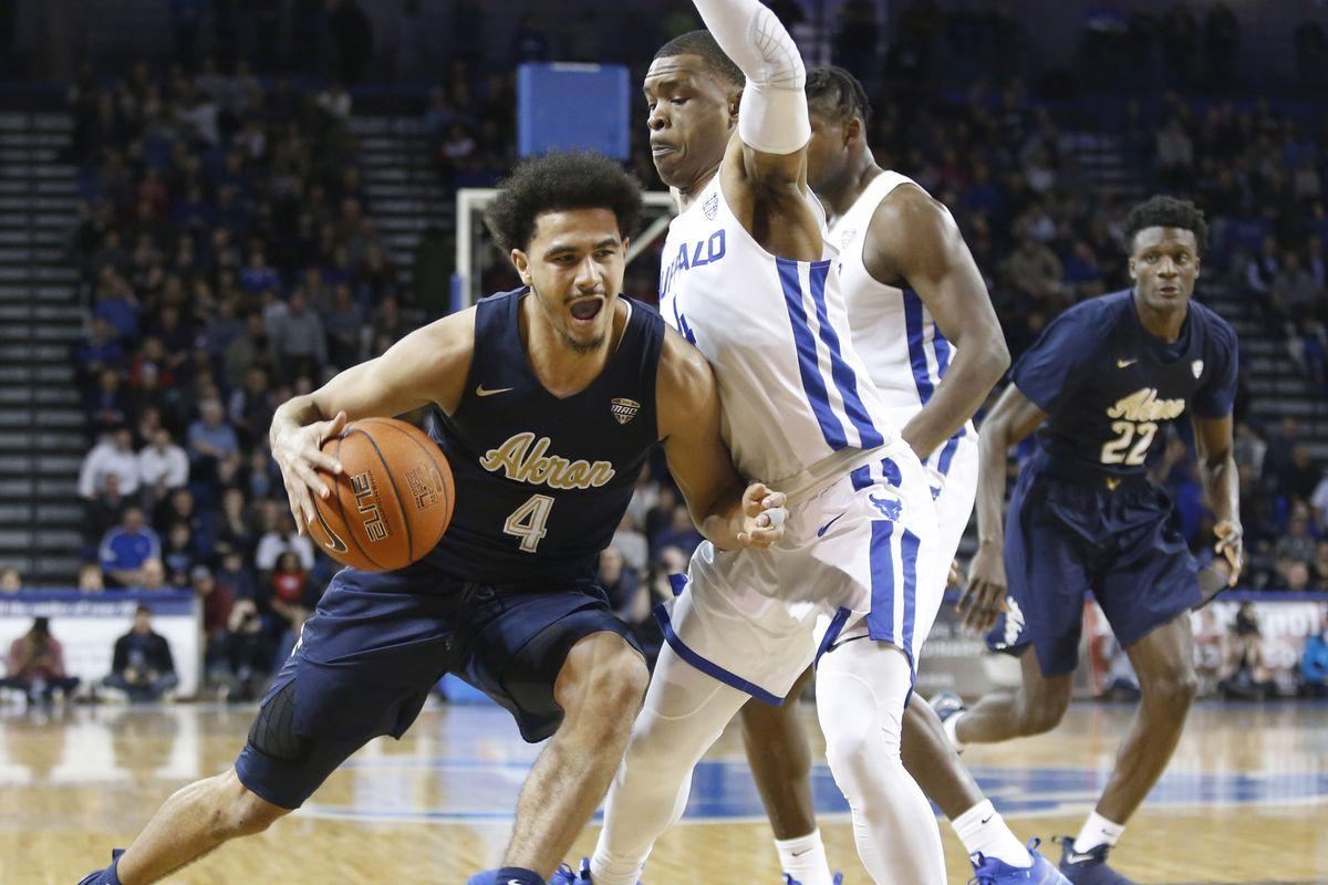 NCAA Basketball: Akron at Buffalo