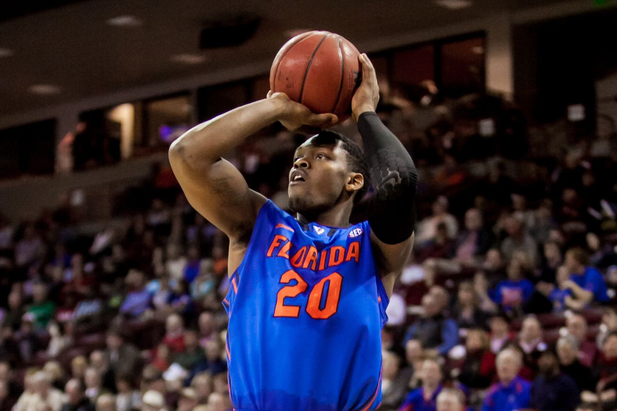 Michael Frazier and the Gators open their tournament on Thursday.