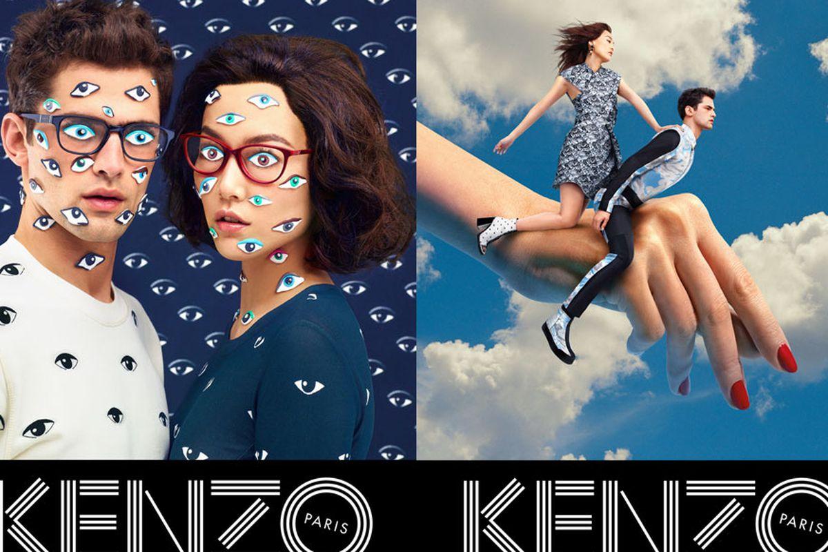 Kenzo's Fall 2013 campaign