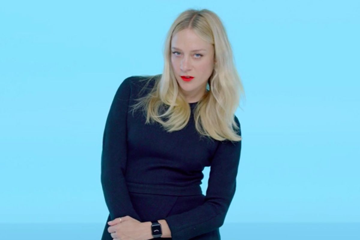 c7abf9c3b5f9 Chloë Sevigny Wears Eight Outfits in Her 15-Second Apple Watch Ad ...