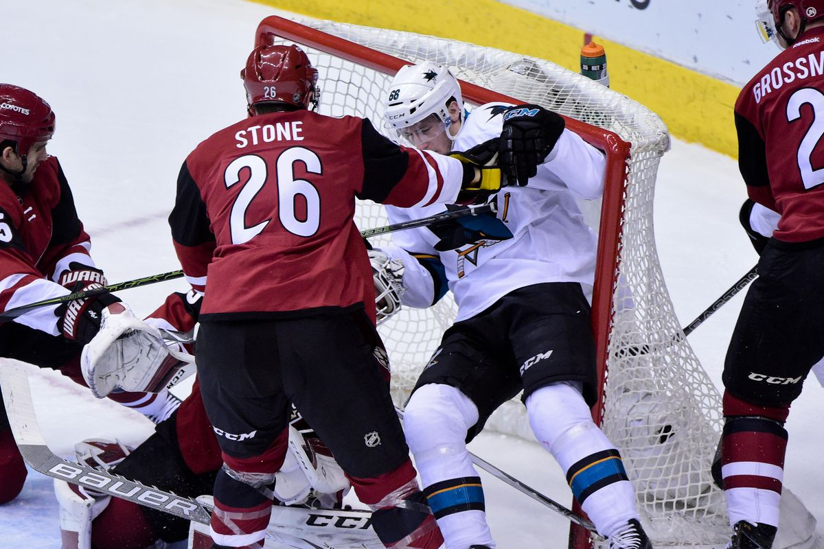 This resulted in a San Jose goal, somehow.