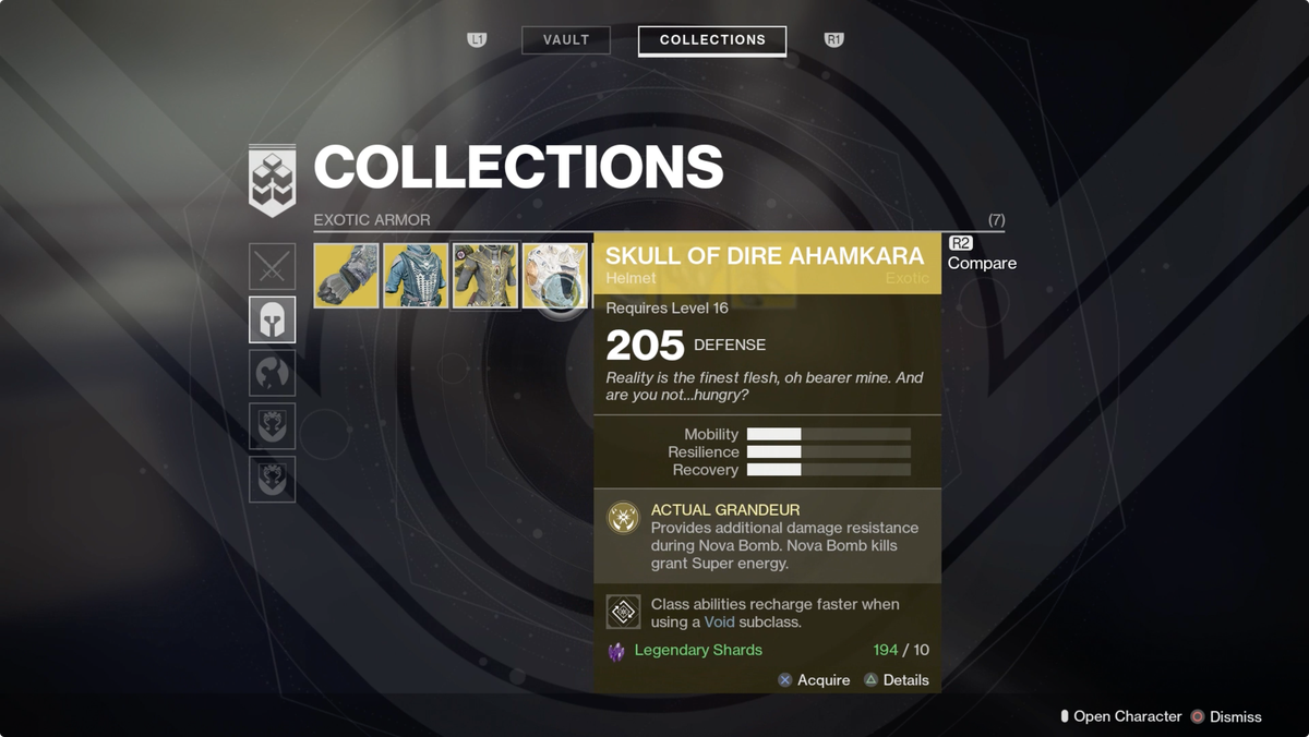 Destiny 2 guide what to do with your extra exotic armor and weapons visit your vault malvernweather Image collections
