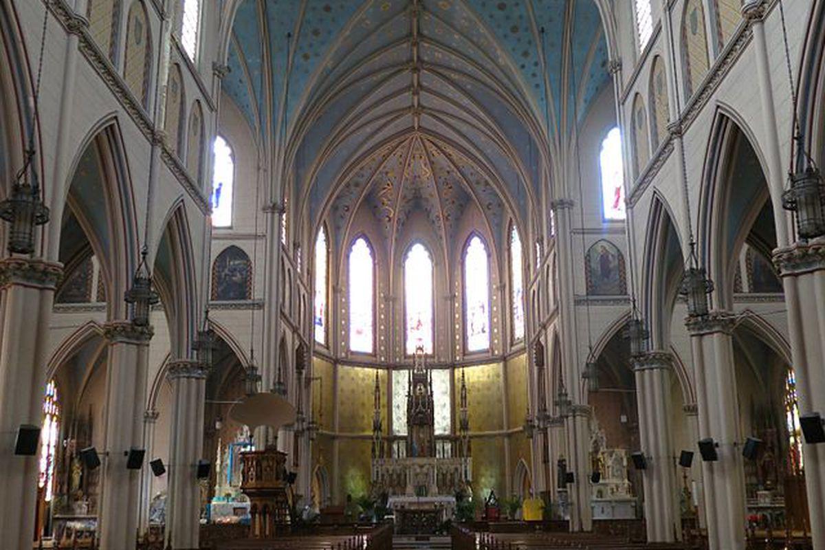 Saint Anne de Detroit.