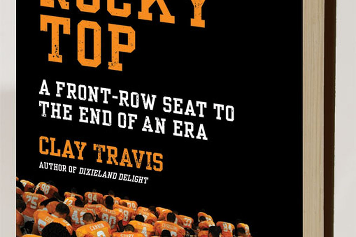 """<a href=""""http://www.amazon.com/Rocky-Top-Front-Row-Seat-End/dp/0061719269"""">On Rocky Top: A Front Row Seat to the End of an Era</a>."""