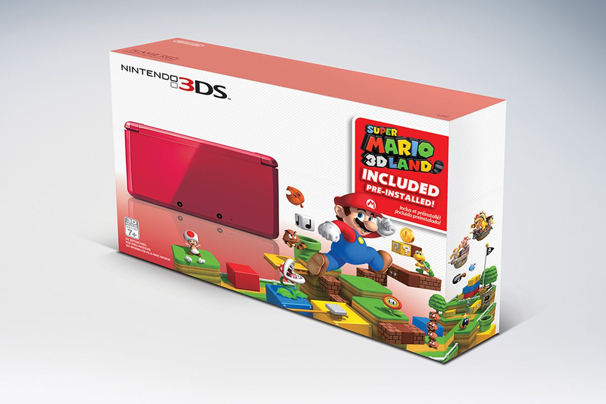 Get Super Mario 3d Land Pre Installed On Flame Red 3ds For 169 99