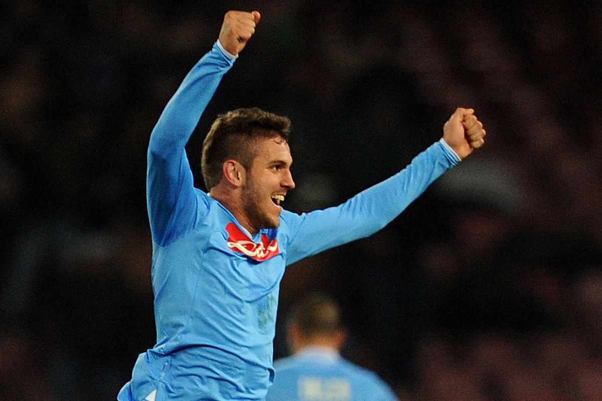 This is the only picture in our system of Uvini in a Napoli shirt.