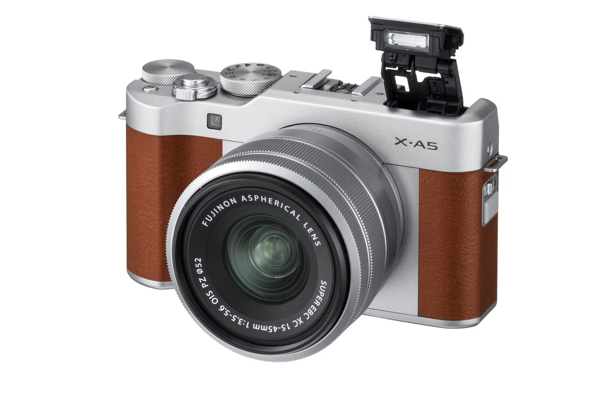 The Fujifilm X-A5 is the retro camera for selfie lovers