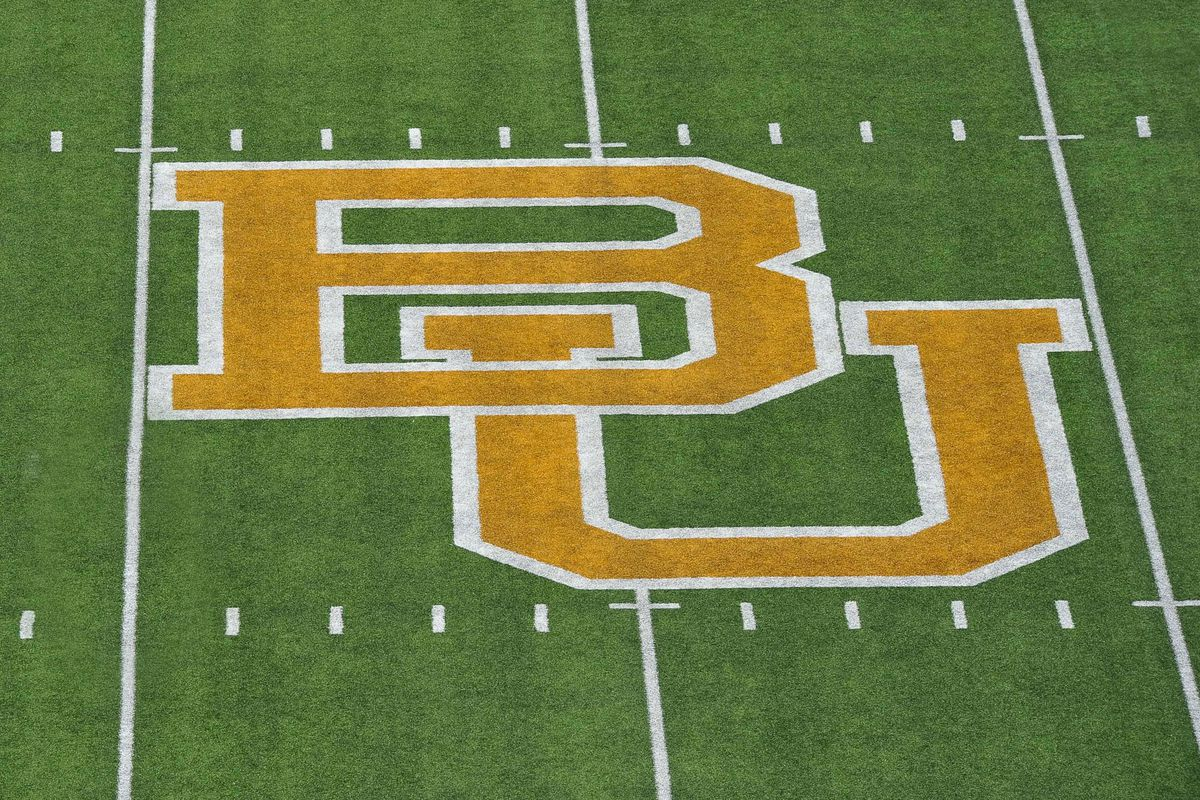 Sep 2, 2012; Waco, TX, USA; A general view of the midfield team logo at Floyd Casey Stadium before the game between the Baylor Bears and the Southern Methodist Mustangs. Mandatory Credit: Jerome Miron-US PRESSWIRE