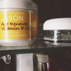 I've fallen in love <strong>Jason</strong> and <strong>Eminence</strong> products, both all-natural or organic.