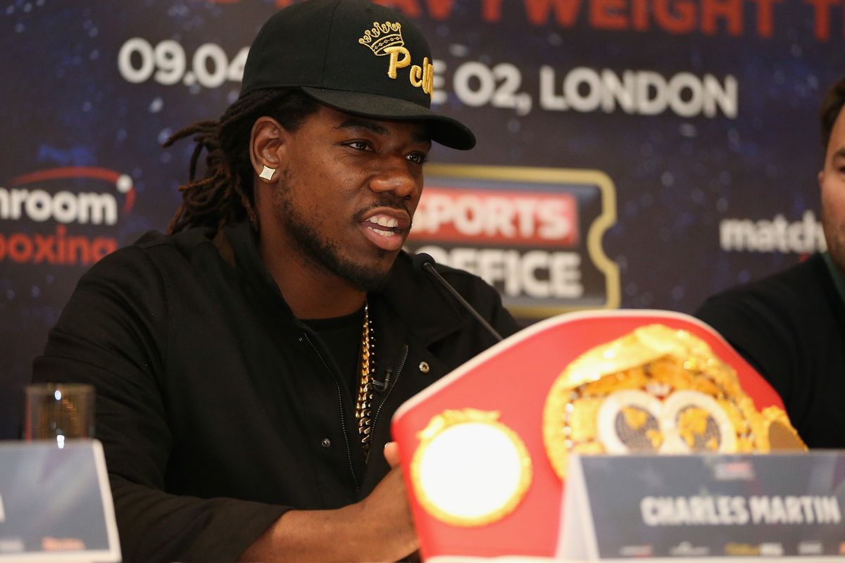 Anthony Joshua and Charles Martin Press Conference